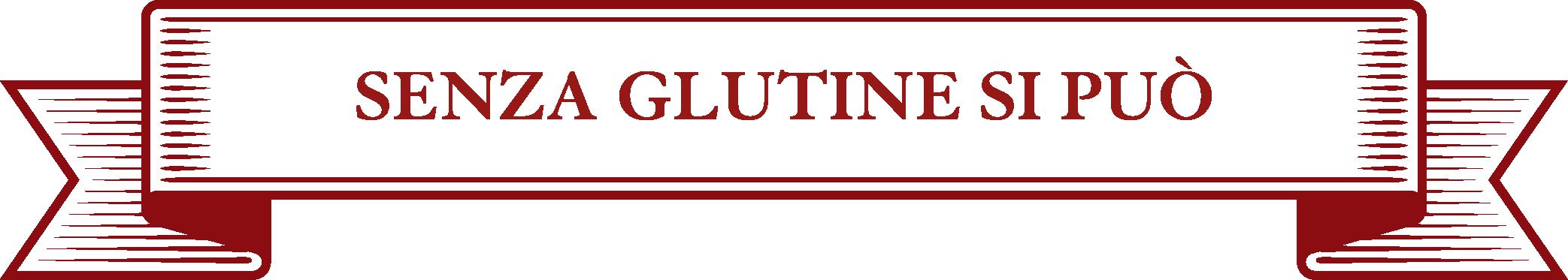 cartiglio senza glutine si può bianco e rosso
