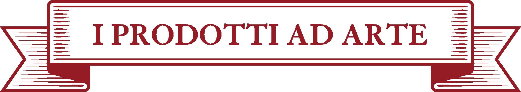 cartiglio prodotti ad arte