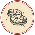 disegno taglio carne